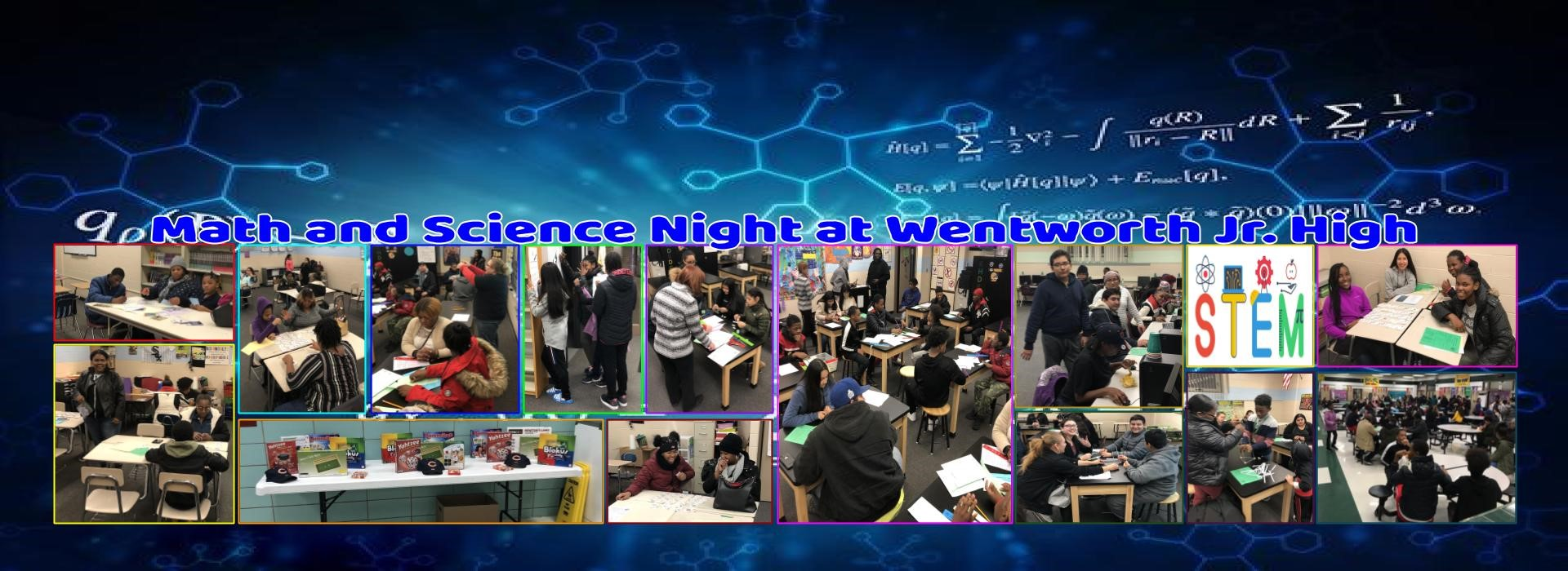 WJH Math and Science Night 2019